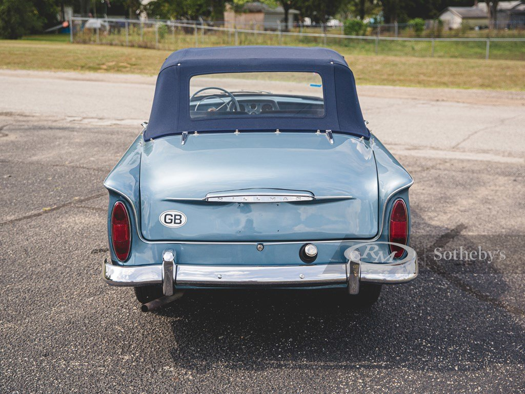 1960 Hillman Minx Series IIIA Convertible  For Sale by Auction (picture 5 of 6)