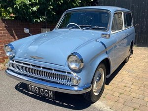 1961 Hillman Husky Series II at ACA 22nd August