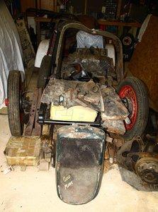 1934 Hillman Aero Minx Restoration Project
