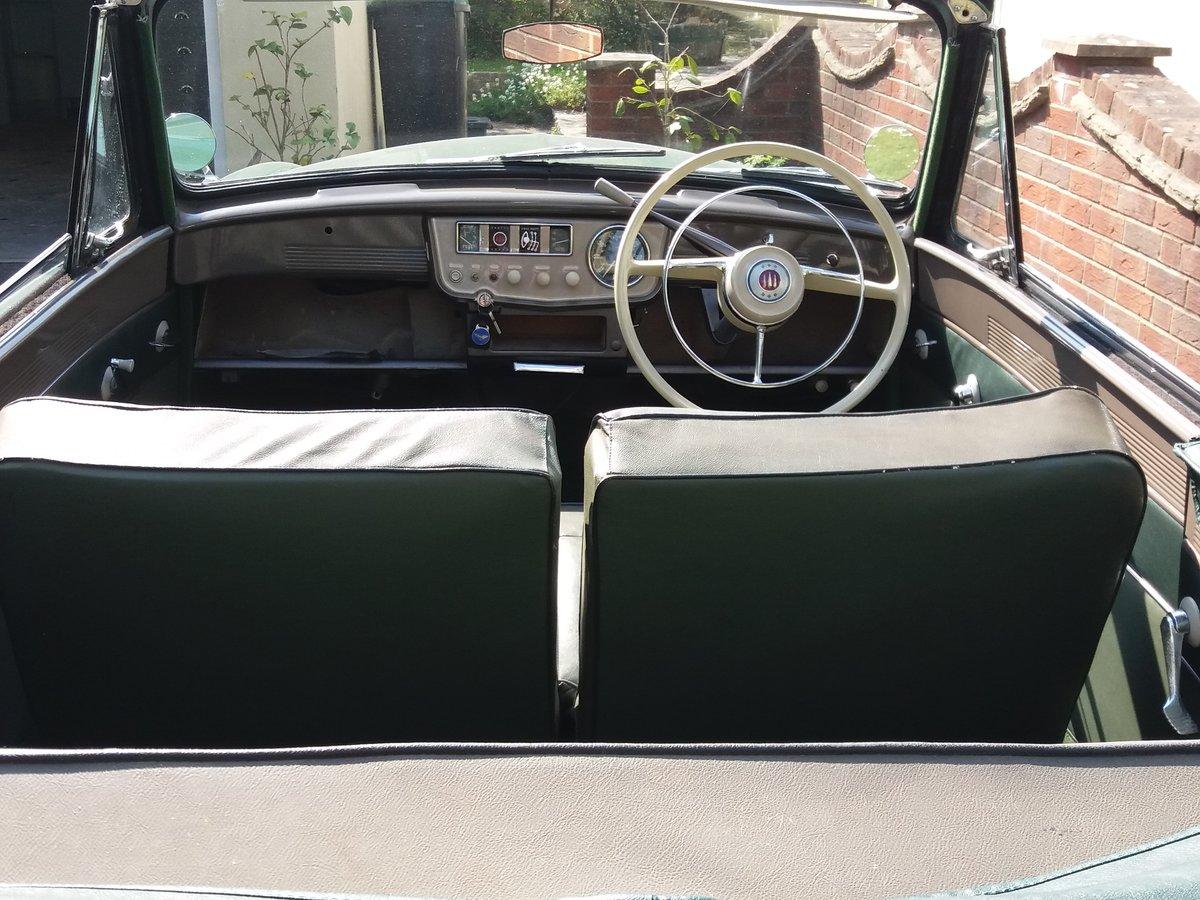 1955 Hillman Minx MK V111 O.H.V Convertible SOLD (picture 5 of 6)
