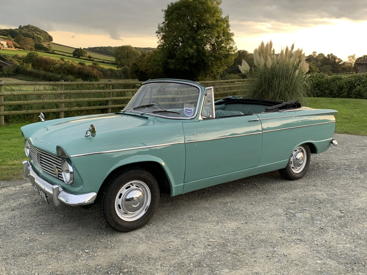 1963 Lovely Hillman Super Minx Convertible in Herefordshire For Sale (picture 1 of 6)