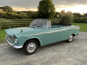 Lovely Hillman Super Minx Convertible in Herefordshire
