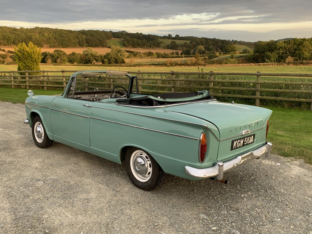 1963 Lovely Hillman Super Minx Convertible in Herefordshire For Sale (picture 2 of 6)