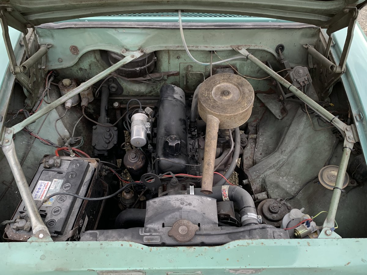 1963 Lovely Hillman Super Minx Convertible in Herefordshire For Sale (picture 4 of 6)