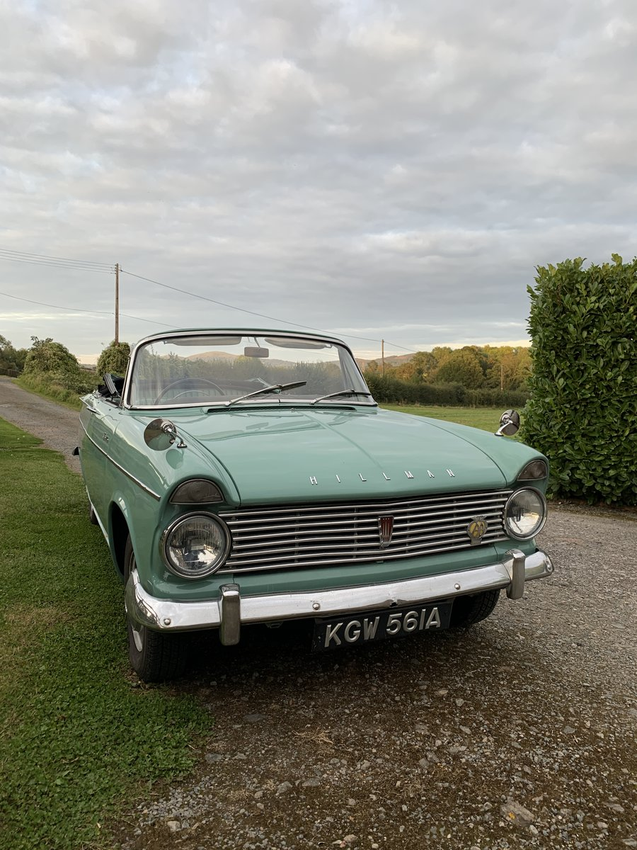 1963 Lovely Hillman Super Minx Convertible in Herefordshire For Sale (picture 6 of 6)
