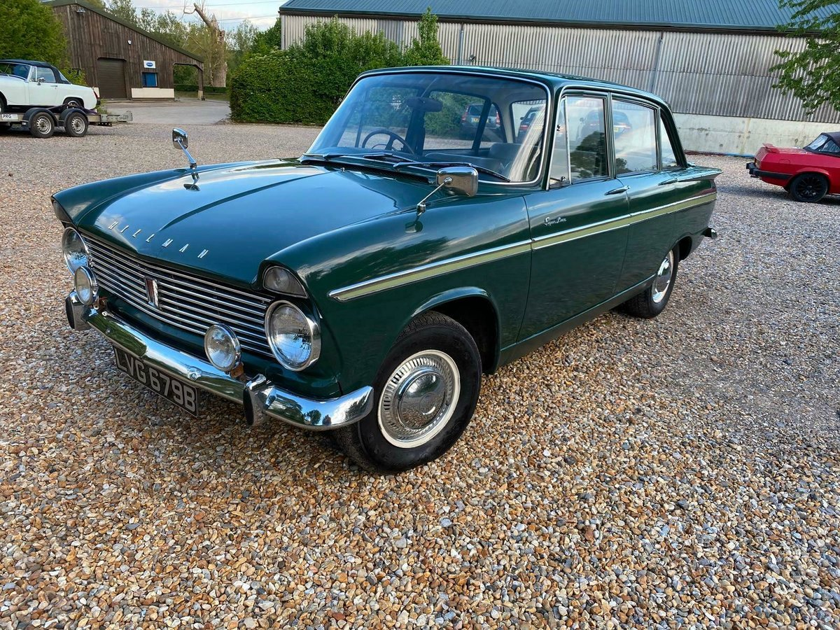 Lovely Increasingly Rare 1964 Hillman Super Minx For Sale (picture 1 of 6)