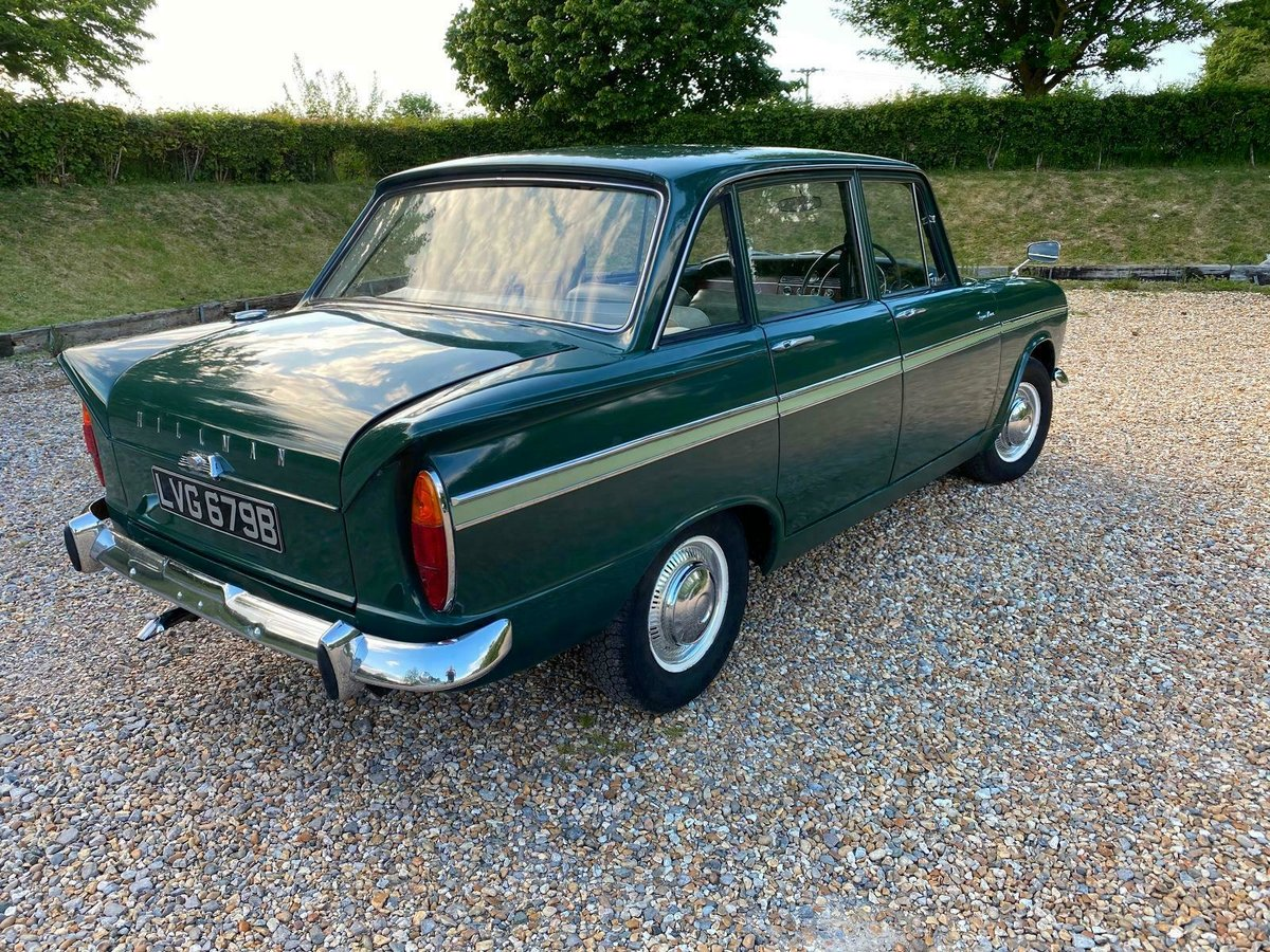 Lovely Increasingly Rare 1964 Hillman Super Minx For Sale (picture 3 of 6)