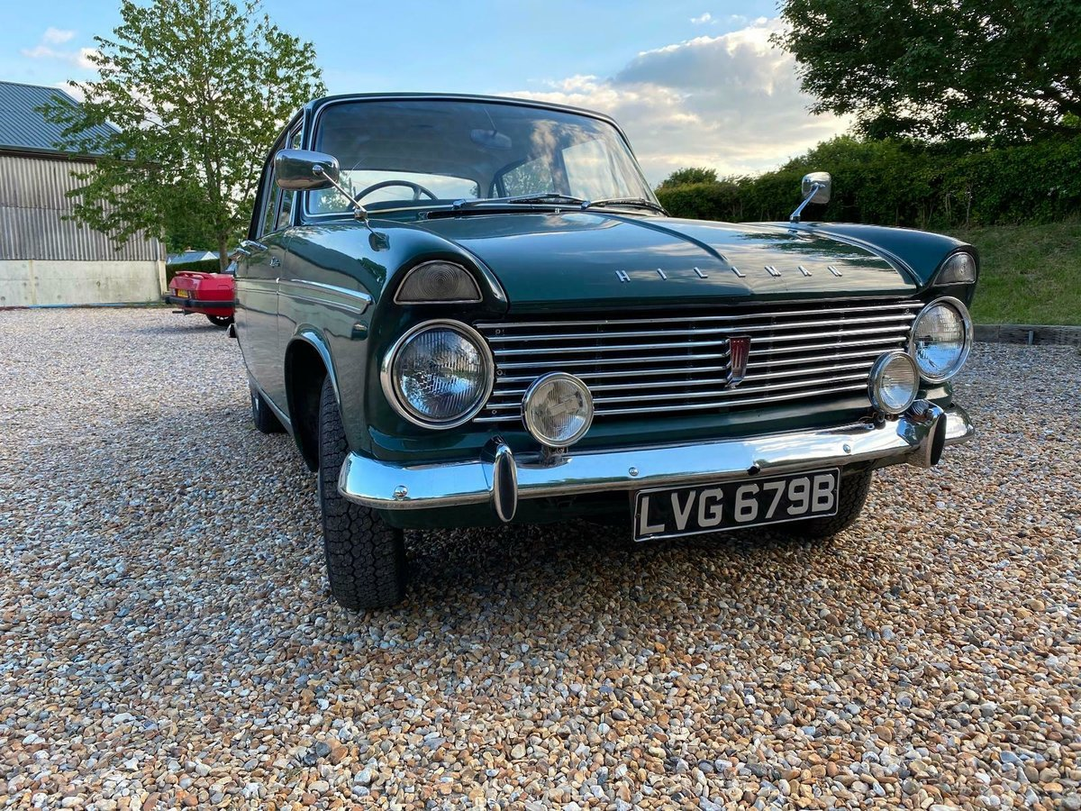 Lovely Increasingly Rare 1964 Hillman Super Minx For Sale (picture 4 of 6)