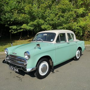 Picture of 1957 Hillman Minx. Last owner had it for 52 years!