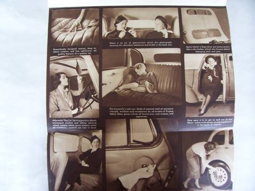 HILLMAN MINX MAGNIFICENT 1937 SALES BROCHURE For Sale (picture 2 of 6)