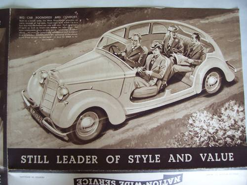 HILLMAN MINX MAGNIFICENT 1937 SALES BROCHURE For Sale (picture 5 of 6)