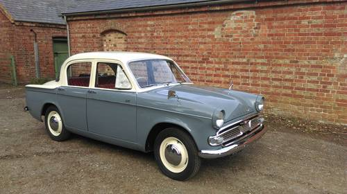 1962 Hillman Minx series IIIC- smart reliable practical SOLD (picture 1 of 6)