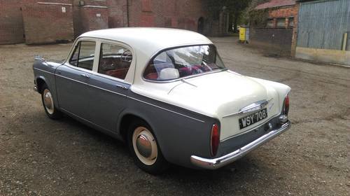 1962 Hillman Minx series IIIC- smart reliable practical SOLD (picture 2 of 6)