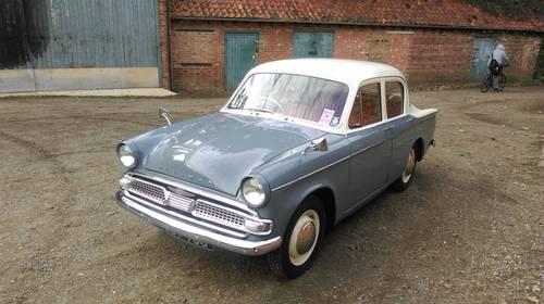 1962 Hillman Minx series IIIC- smart reliable practical SOLD (picture 3 of 6)
