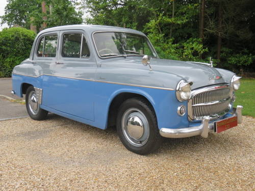 1956 Hillman Minx Deluxe (Credit/Debit Cards & Delivery) SOLD (picture 1 of 6)