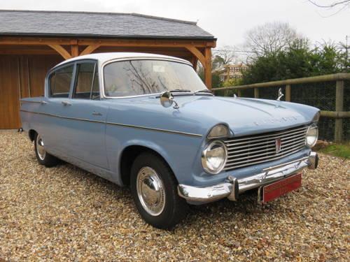 1963 Hillman Super Minx (Credit/Debit Cards & Delivery) SOLD (picture 1 of 6)
