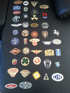 Collection 43 Radiator Badges