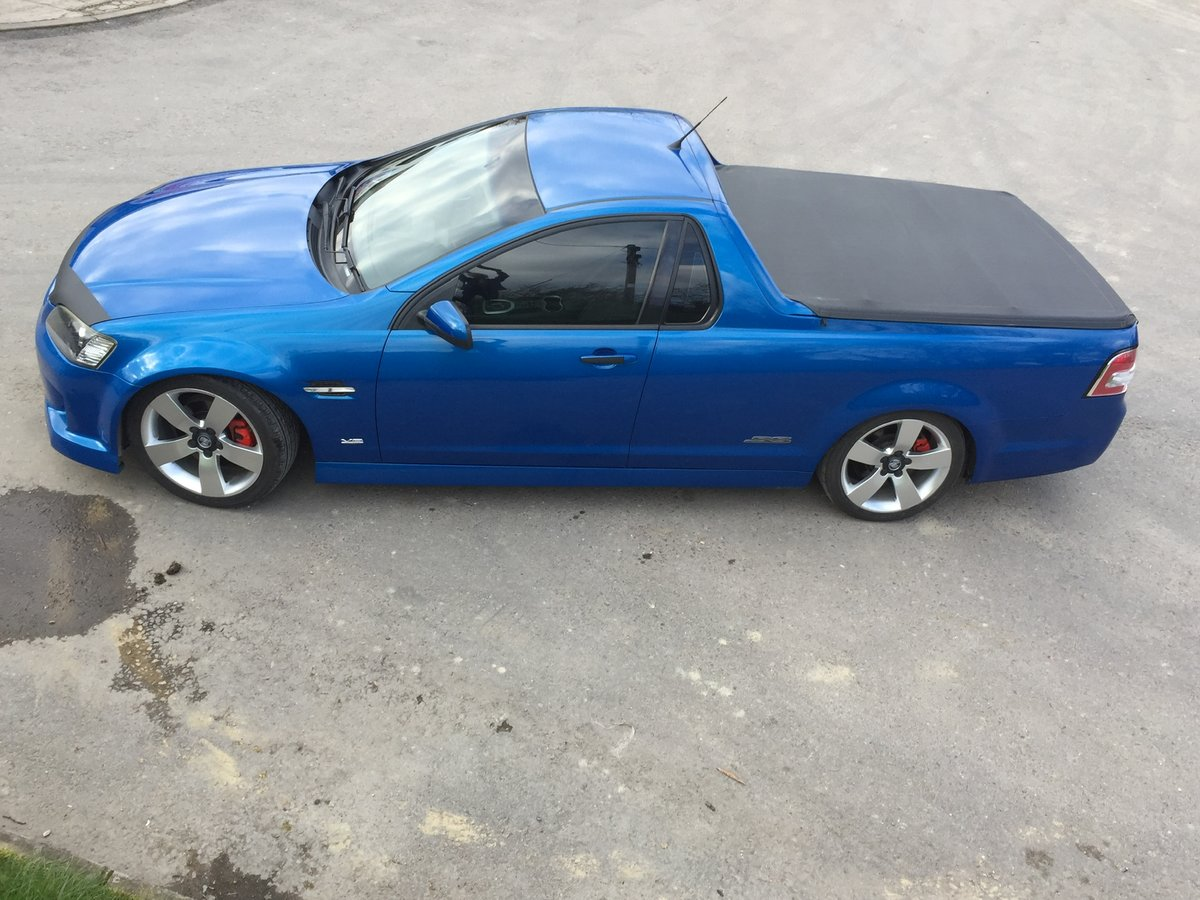 2008 Holden Vauxhall ute pick up PX POSS ? SOLD (picture 1 of 1)