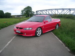 2002 Holden UTE Commodore SS Lite 5.7 V8 AUTOMATIC PICK- UP