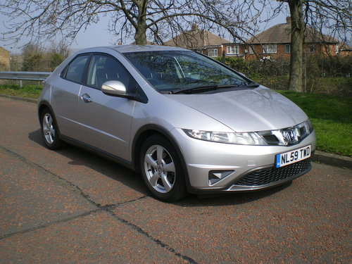 2009  Honda-Civic-1-8-I-VTEC-SE-59-plate,1 owner, Outstanding Car SOLD (picture 1 of 6)