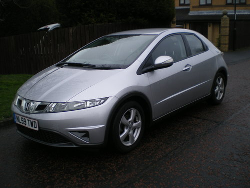 2009  Honda-Civic-1-8-I-VTEC-SE-59-plate,1 owner, Outstanding Car SOLD (picture 6 of 6)