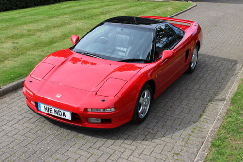 Honda NSX 1991 Manual Coupe - 39,900 miles - £59,000 SOLD (picture 2 of 6)
