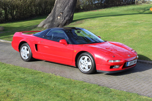 Honda NSX Manual Coupe - Formula Red - 57,000 miles (1991) SOLD (picture 1 of 6)