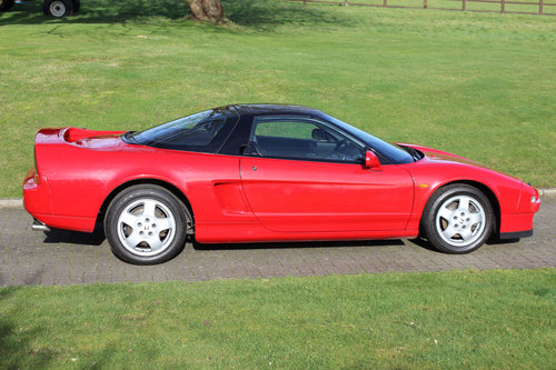 Honda NSX Manual Coupe - Formula Red - 57,000 miles (1991) For Sale (picture 2 of 6)