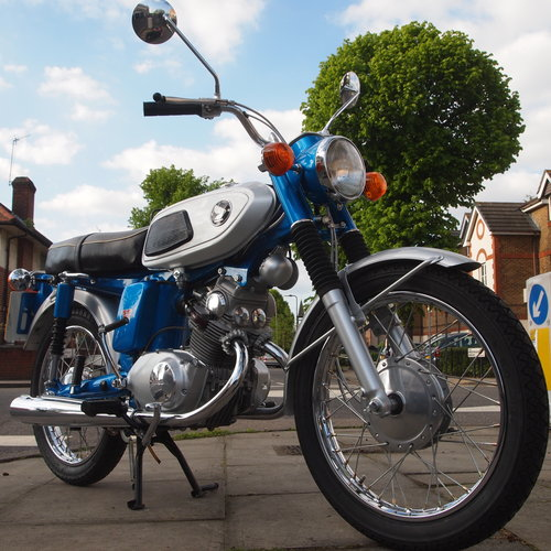 1970 Rare SS125A Twin Cylinder, UK Bike From New. SOLD (picture 1 of 6)