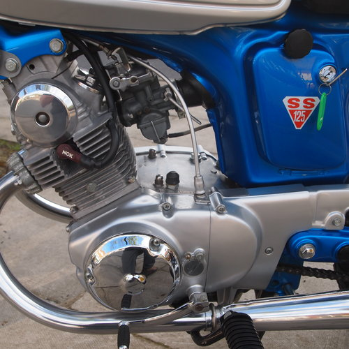 1970 Rare SS125A Twin Cylinder, UK Bike From New. SOLD (picture 2 of 6)