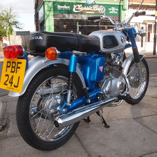 1970 Rare SS125A Twin Cylinder, UK Bike From New. SOLD (picture 4 of 6)