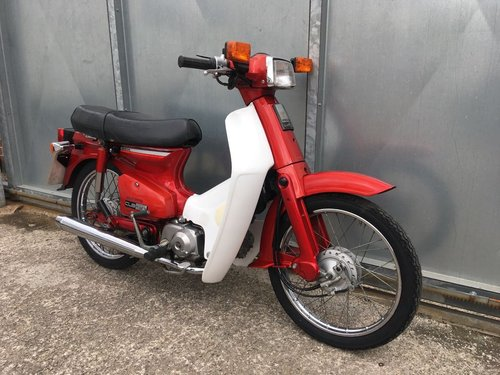 1981 HONDA C90 C 90 CUB ELECTRIC START SIMPLY LOVLEY! CLASSIC  For Sale (picture 3 of 5)