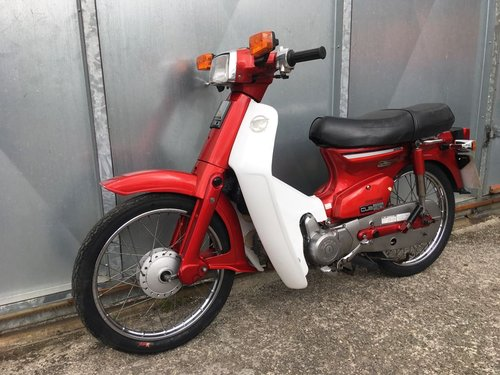 1981 HONDA C90 C 90 CUB ELECTRIC START SIMPLY LOVLEY! CLASSIC  For Sale (picture 4 of 5)