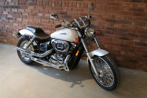 2003 Honda VT750DCA3 Shadow Spirit - Only 644 miles For Sale (picture 1 of 6)