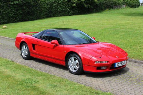 HONDA NSX COUPE MANUAL (1993)  For Sale (picture 1 of 6)