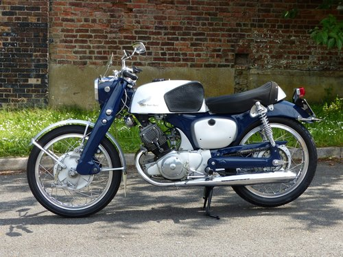 1960 Honda CB92 125 Benly Super Sport Classic Motorcycle For Sale (picture 1 of 5)