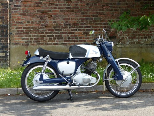 1960 Honda CB92 125 Benly Super Sport Classic Motorcycle For Sale (picture 2 of 5)