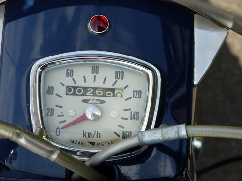 1960 Honda CB92 125 Benly Super Sport Classic Motorcycle For Sale (picture 3 of 5)