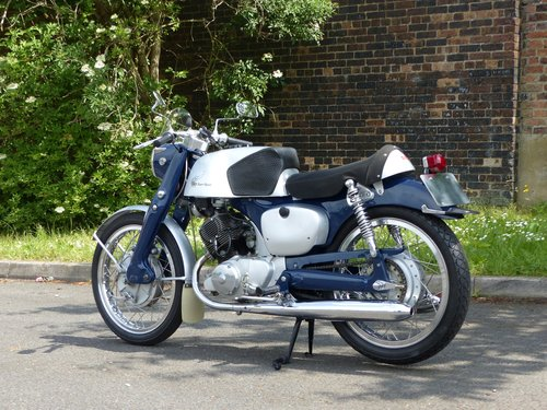 1960 Honda CB92 125 Benly Super Sport Classic Motorcycle For Sale (picture 4 of 5)