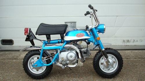 Honda Z50 AK2 MINI TRAIL 1970 **RESTORED** SOLD (picture 1 of 6)