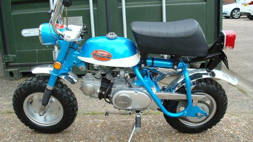 Honda Z50 AK2 MINI TRAIL 1970 **RESTORED** SOLD (picture 6 of 6)