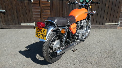 1976 HONDA 550/4 F1 SUPERSPORT WITH JUST 6200 MILES FROM NEW SOLD (picture 2 of 6)
