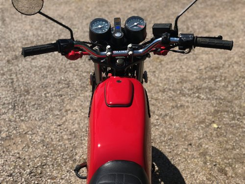 Honda CB 125 Twin 1977. Classic Japanese Motorcycle SOLD (picture 5 of 6)