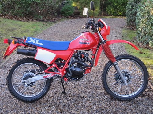 Honda XL125 R 1987 For Sale (picture 1 of 6)