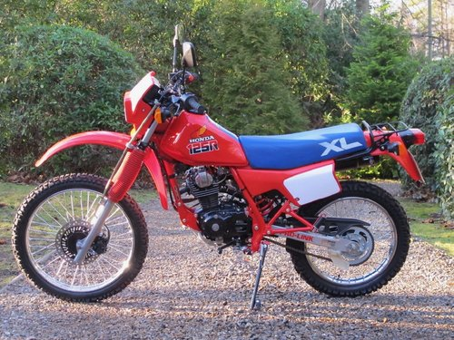 Honda XL125 R 1987 For Sale (picture 2 of 6)