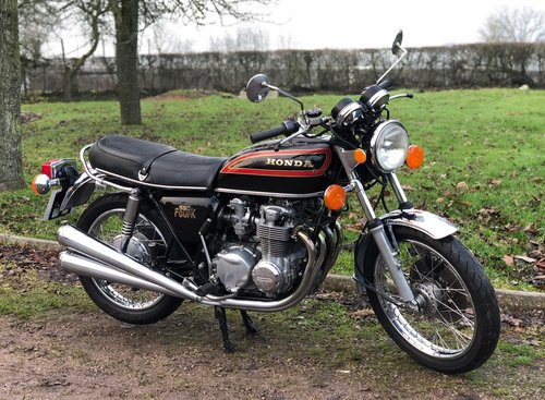 Honda CB 550/4 1979. Classic Japanese Motorcycle SOLD (picture 2 of 6)