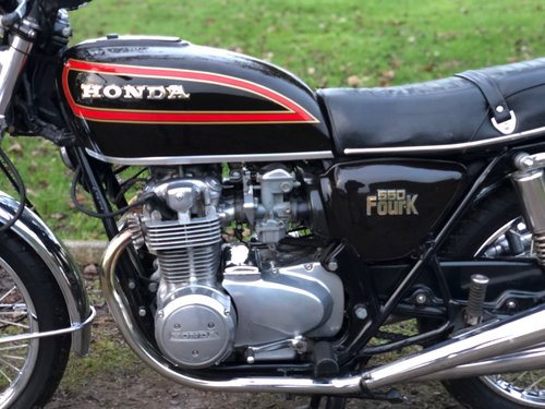 Honda CB 550/4 1979. Classic Japanese Motorcycle SOLD (picture 3 of 6)
