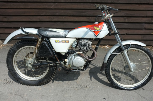 Honda TL125 TL 125 K2 1975 unbelievable standard untouched c SOLD (picture 1 of 6)