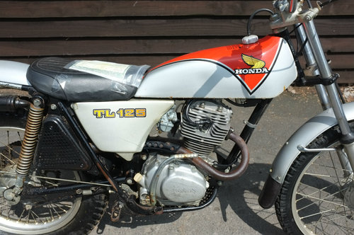 Honda TL125 TL 125 K2 1975 unbelievable standard untouched c SOLD (picture 3 of 6)