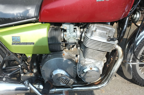 Honda CB750 A CB 750 Automatic 1976 US BARN FIND excellent For Sale (picture 3 of 6)